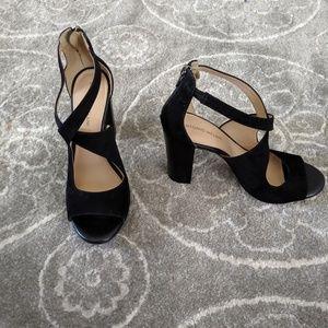 Antonio Melani Black Heels sz 9.5